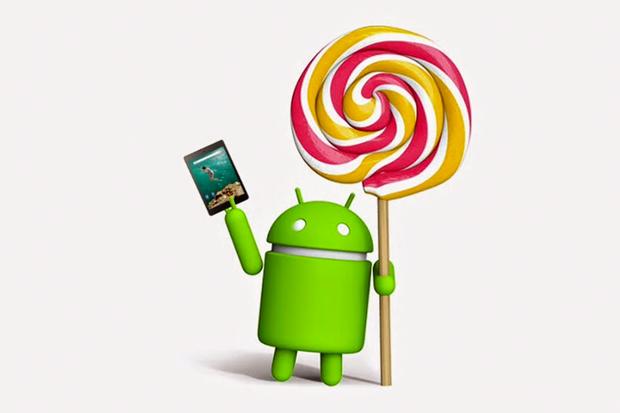 android lollipop nexus 9
