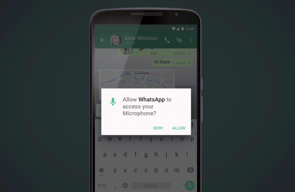 android m whatsapp permissions