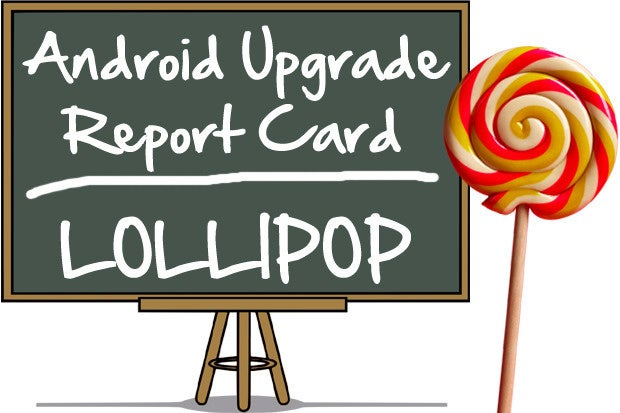 Android Upgrade Report Card: Lollipop