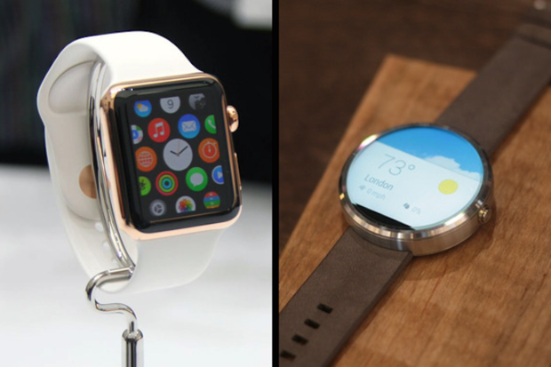 Apple Watch vs. Moto 360 Android wear smartwatch reviews