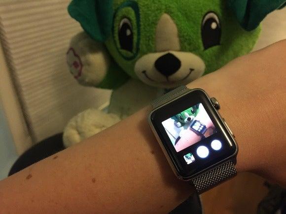 apple watch camera remote