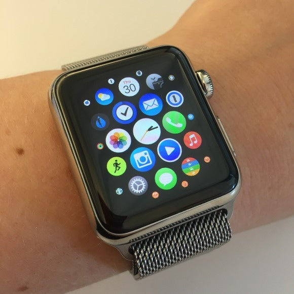 apple watch home