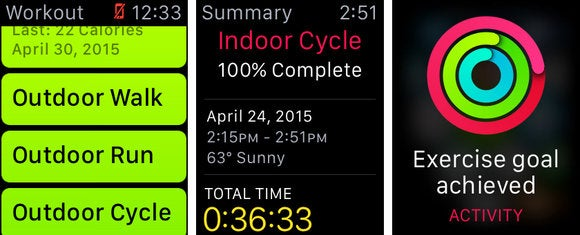apple watch workout 3up