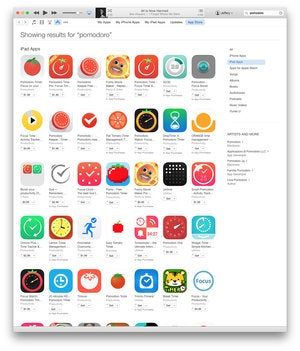 App Store Pomodoro Timers
