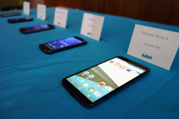 ARM CEO sees fierce smartphone rivalry driving faster chip