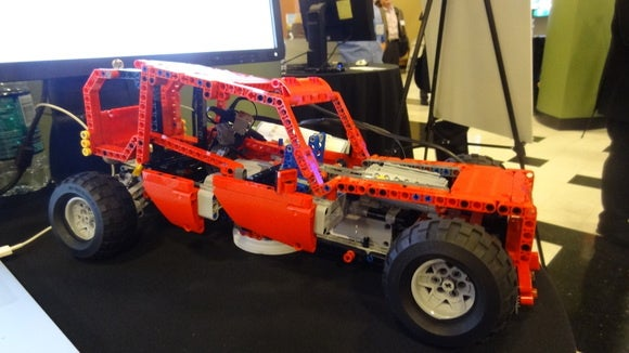 att onramp robot car