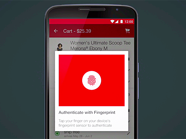 authenticate with fingerprint_Android Pay