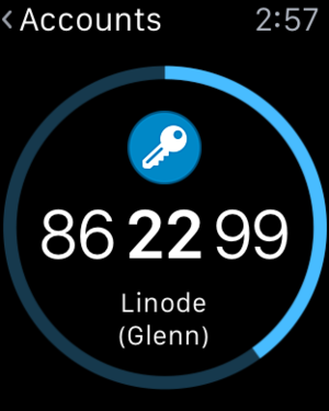 authy watch code