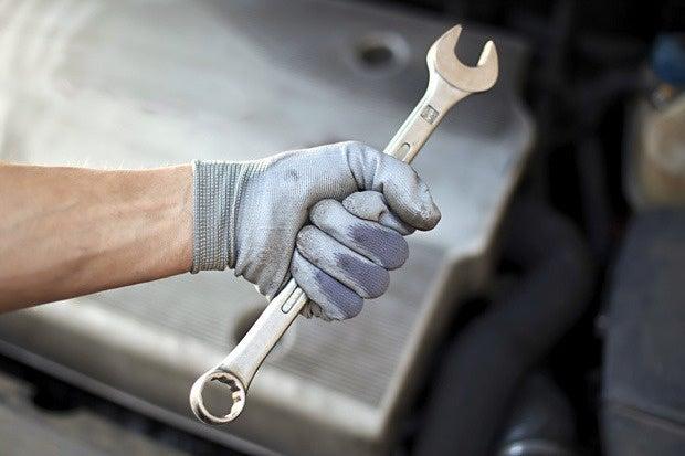 auto mechanic wrench