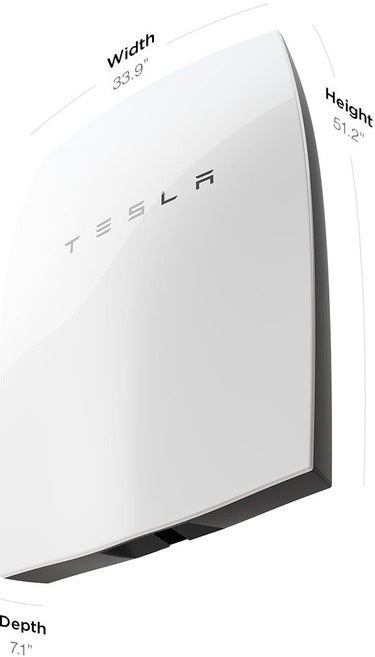 Tesla battery specs imperial