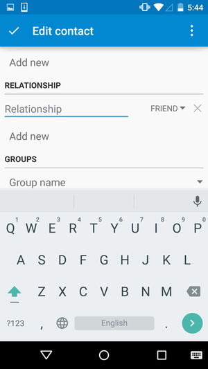 contacts app2
