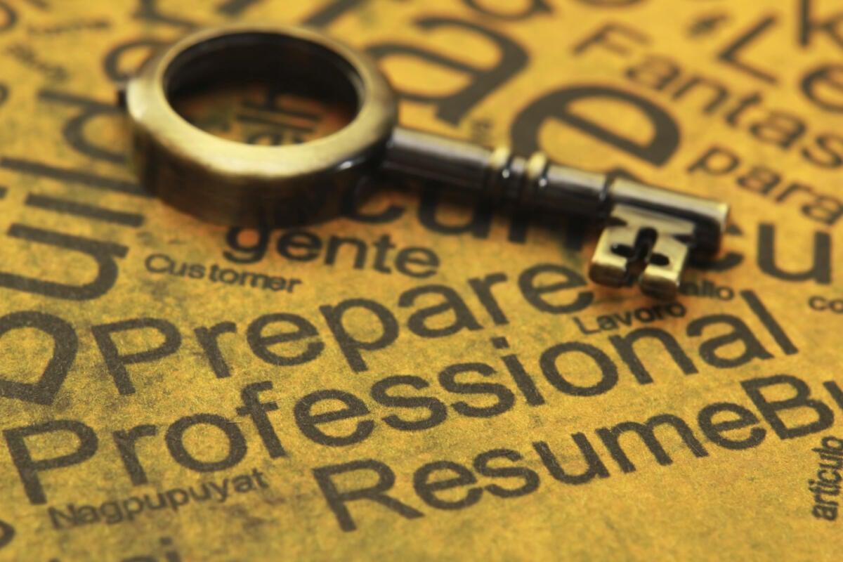 create great resume