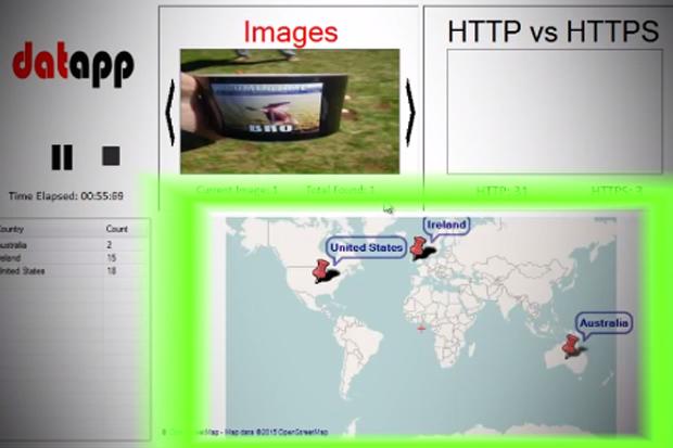 Datapp tool reveals mobile apps sending unencrypted data