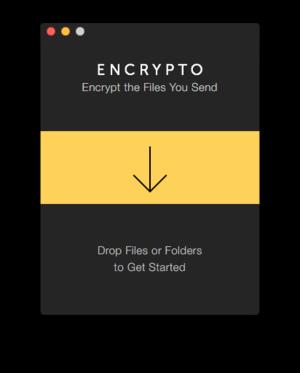 encrypto main window