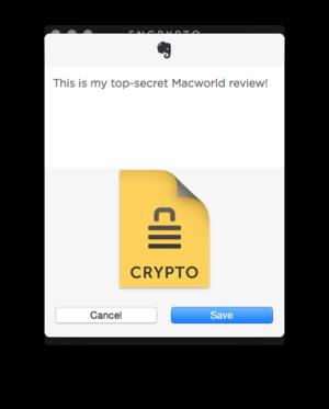encrypto share to evernote