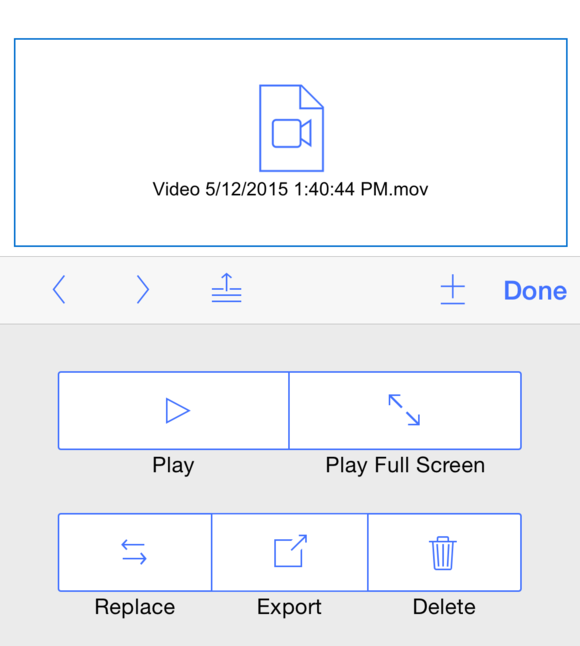 fmg14 play movie controller