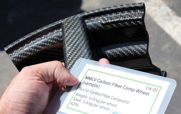 ford gt carbon fiber wheel