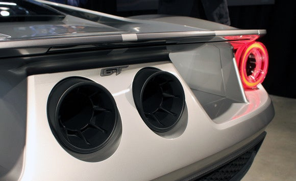 ford gt exhausts
