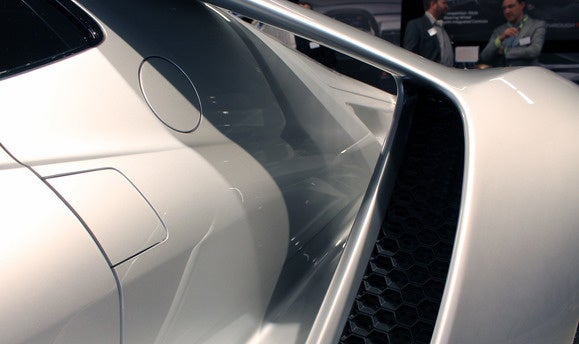 ford gt flying butress front