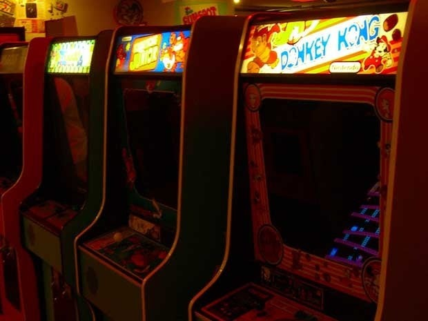 Arcade games at the Funspot arcade
