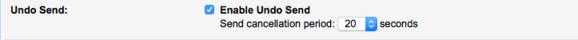 gmail labs undo send