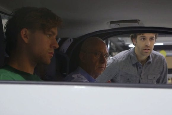 google self driving three male staffers inside may15 2015 8