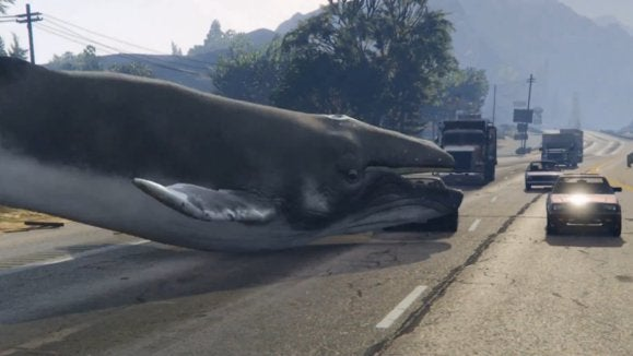 Grand Theft Auto V Whale