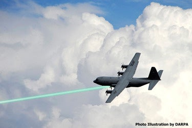 DARPA plans to mount its HELLADS laser on planes, drones, ships and ground vehicles.