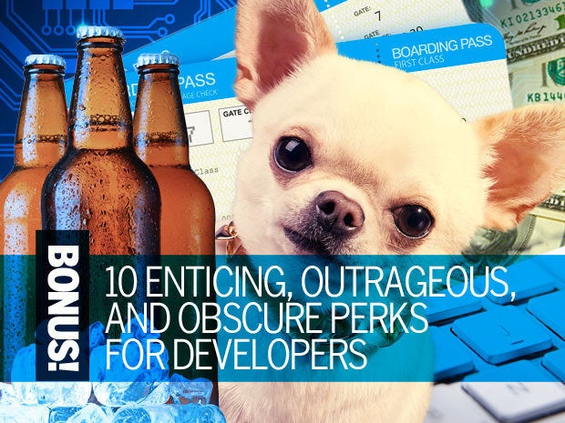 Bonus! 10 enticing, outrageous, and obscure perks for developers