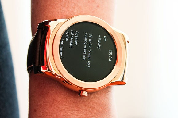 Android Wear always-on mode