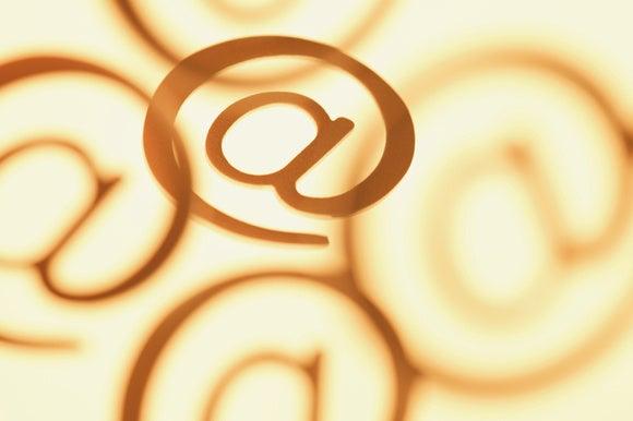internet url symbol stock image