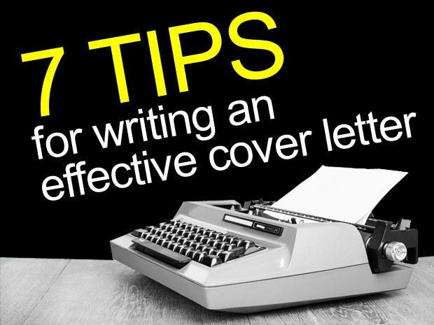 Tips For Writing An Effective Cover Letter  Cio