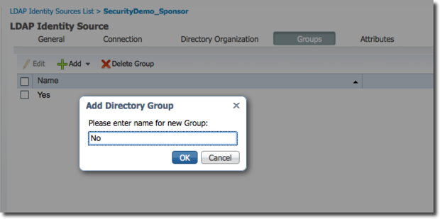 LDAP Groups