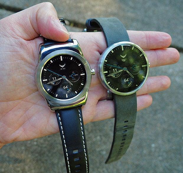LG Watch Urbane, Moto 360