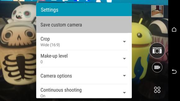 m9 tips camera modes