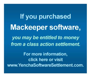mackeeper settlement ad