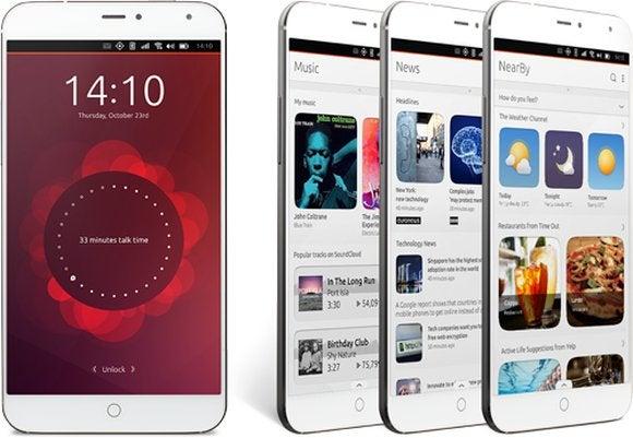 meizu x4 ubuntu phone