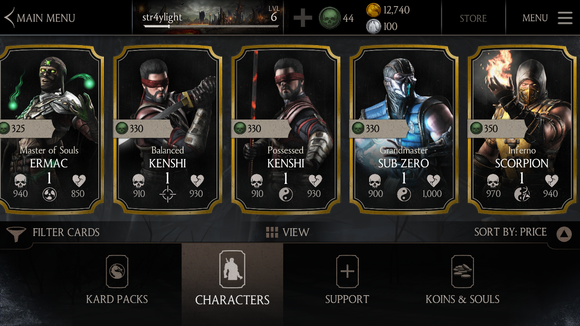 mkx buycards