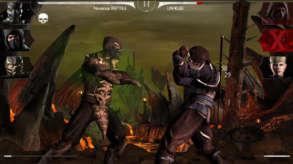mkx fighting