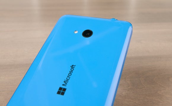 Lumia 640 back camera