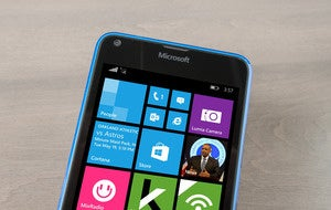 Lumia 640 front top