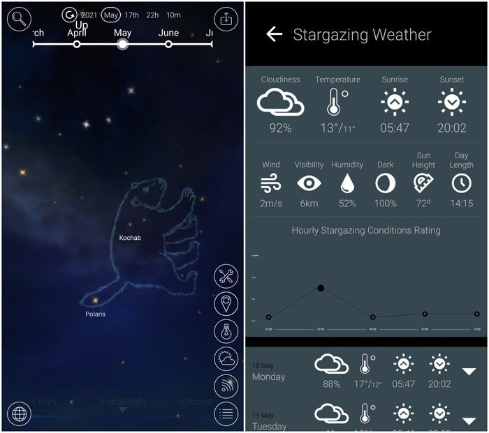 night sky pro