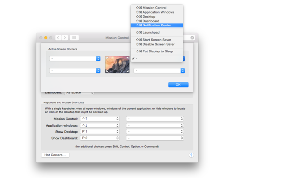 how to put notification noise down on mac