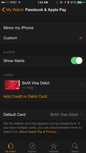 How to use apple pay on the apple watch macworld adding cards colourmoves