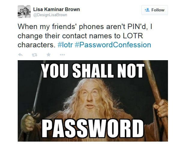 Password Confession