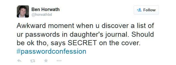 Password confession 2