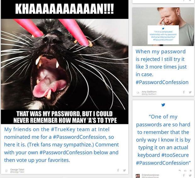 Password Confessions