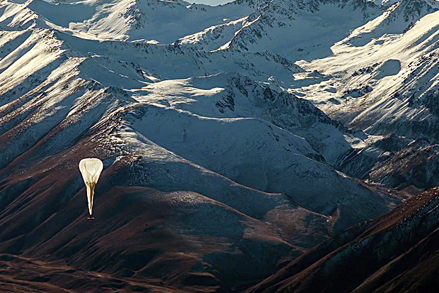 Google Project Loon internet balloon crash U.S.