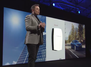 Elon Musk announces the Powerwall battery line