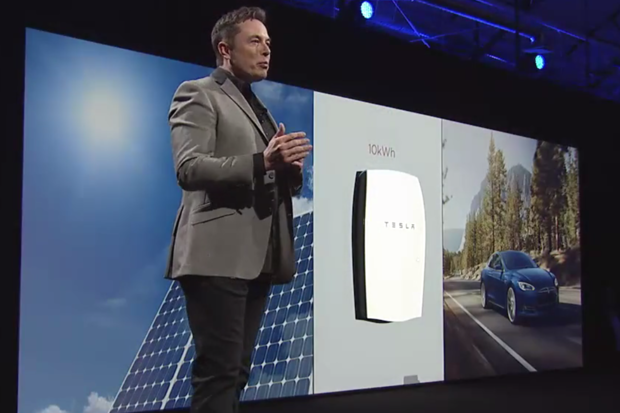 Amazon cloud Tesla Powerwall
